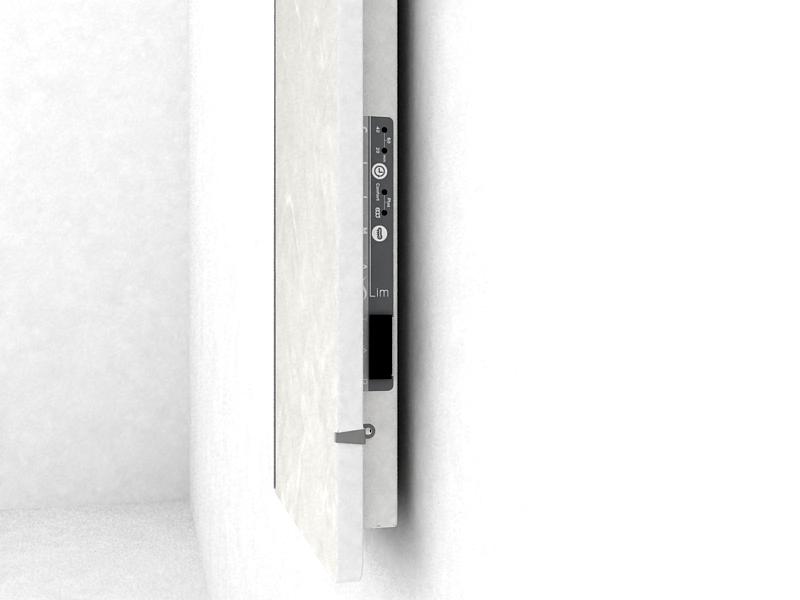 GLOA SLIM - pohled na ovládací panel
