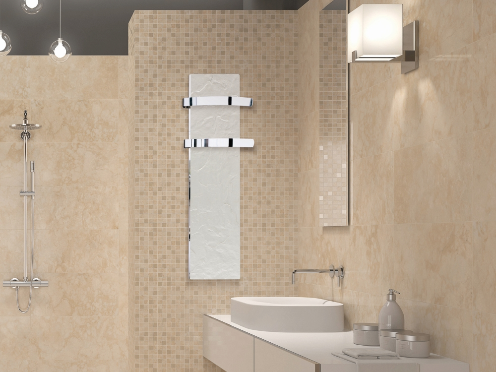 Sálavý panel GLOA SLIM v koupelně